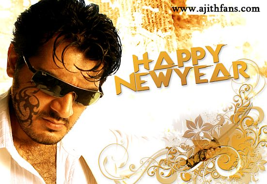 Ajithfans.com wishes for Happy New Year and more Updates ...