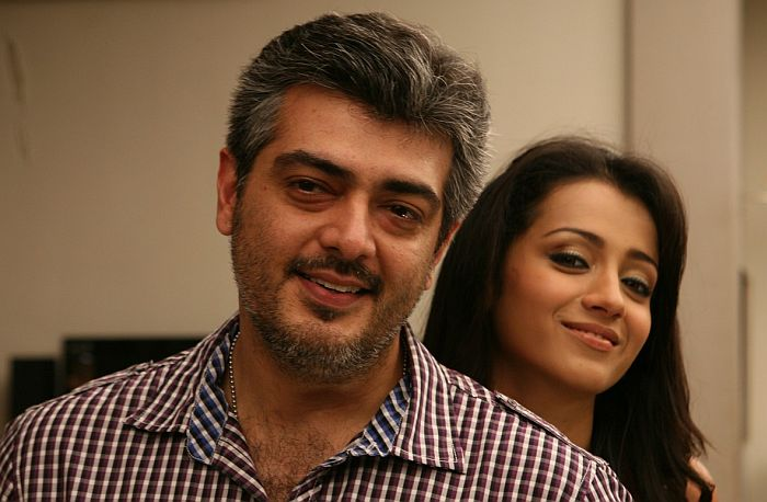 Trisha to pair Ajith in Gautham Menon's film?