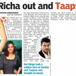 Richa out and Taapsee in - Deccan Chronicle