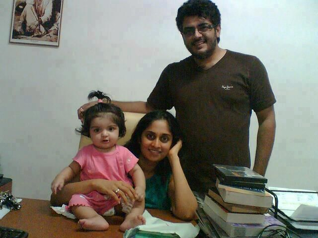 Exclusive: Ajith Family Unseen Cute Pic