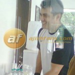Ajith works out in Gym - Exclusive Pic