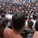 Huge Crowd to see Ajith at Bangalore