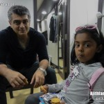 "Ajith with his ""Kutty Fan"" in Bangalore - Fans Share"