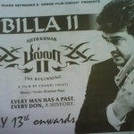 Today's Billa 2 Ad in Malaysian Newspapers