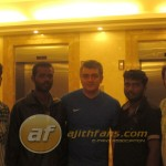 Thala with his Fans in Bangalore - Fans Share