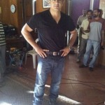 Ajith in the sets of Director Vishnuvardhan Film