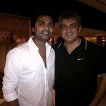 Thala Ajith with Simbu during the Shoot in Mumbai - Exclusive Pic