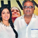 Sridevi with Boney Kapoor at English Vinglish Press meet