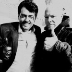 Stunt Master Stephan Richter with Ajith Kumar during Billa 2 Shoot