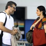 Ajith with Sridevi in the movie English Vinglish