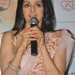 Sridevi addressing the Press Yesterday at PVR Cinemas Chennai