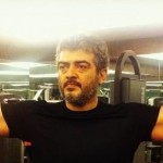 Ajith in Gym