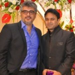 Exclusive Images : Ajith & Shalini at Director Jothikrishna Wedding Reception