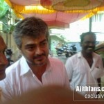 Ajith at Saibaba Temple