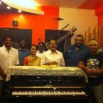 At Music Director Devi Sri Prasad Studio in Chennai
