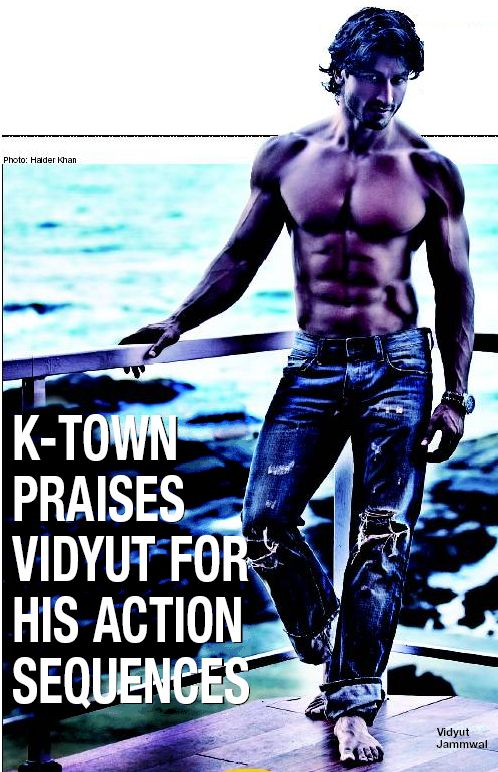 Ajith about Vidyut Jamwal's Hard work in Commando