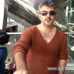 Ajith at Dubai Airport