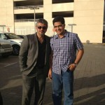 Thala Ajith with fans from Film shooting Dubai. Thanks for sharing Amelore Philo Paul.