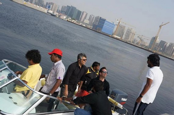 Ajith and technical team in Dubai.