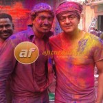 Ajith in Mumbai with his Fan