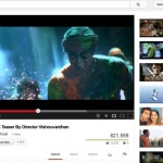 The Screenshot from YouTube of Ajith's 53 Movie Teaser Crossed 8 Lakh Hits.