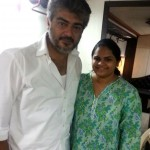 Ajith seen with Actress Vidyu Raman in Siruthai Siva's Upcoming Project First Schedule which held in Hyderabad.