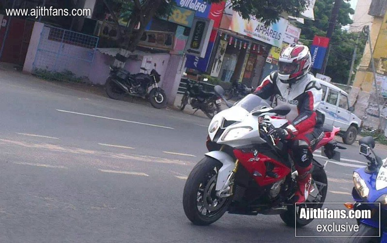 Ajith On His New Bmw Bike Exclusive Images Ajithfans Actor