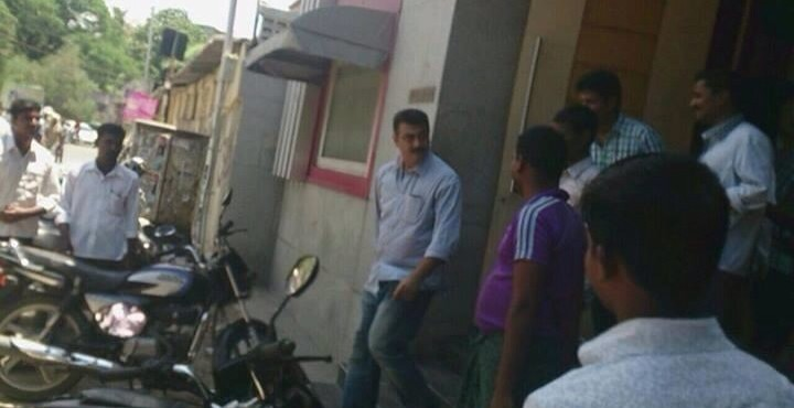 Ajith 55 Film Shooting Spot Pictures