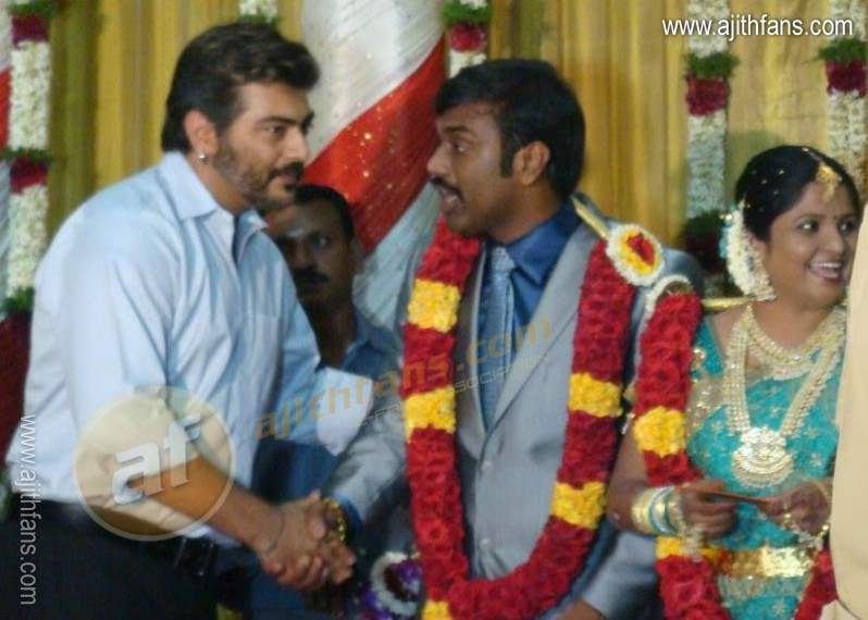 Ajith At A Marriage Function 4