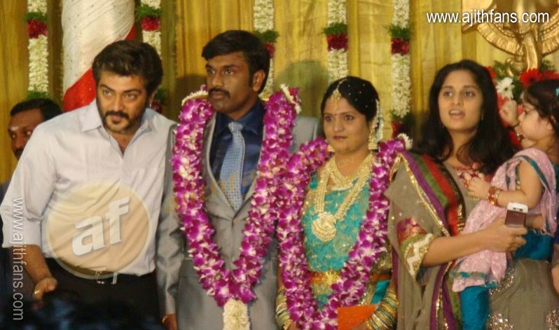 Ajith At A Marriage Function 9