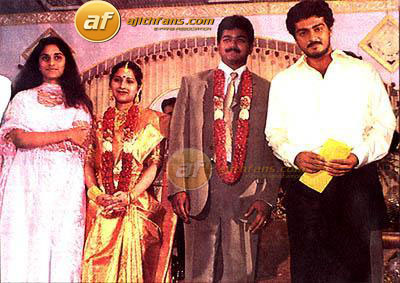 Ajith Shalini At Actor Vijay Marriage