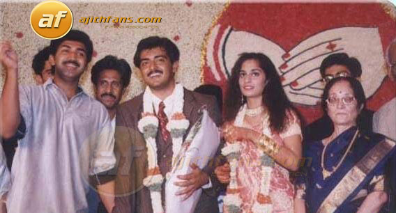 Actor ArunKumar With The Ajith Shalni On Their Wedding