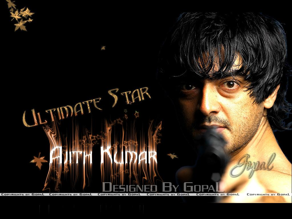 Ajith Wallpaper by Gopal